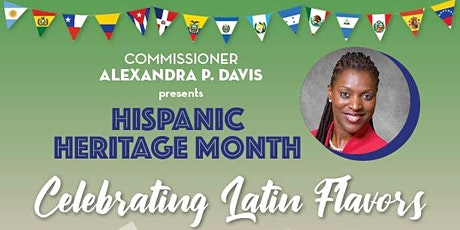 Com. Alexandra P. Davis Presents Hispanic Heritage Month Celebration tickets