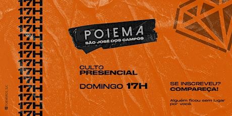 Culto Presencial 17h - 27/09/2020 ingressos