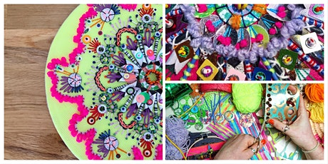 Embellished Festive Mandalas with Jessica Grady tickets