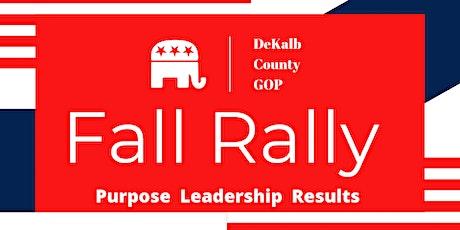 DeKalb County GOP Fall Rally tickets