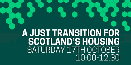 A Just Transition for Scotland's Housing tickets