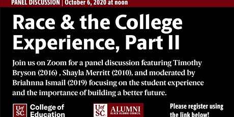 Race & the College Experience, Part II tickets