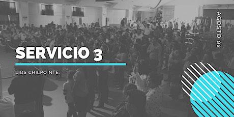 Servicio 3 - LIDS Chilpo Nte. tickets