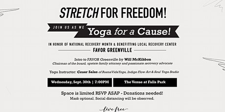 STRETCH FOR FREEDOM: Join us as we Yoga for a Cause! tickets
