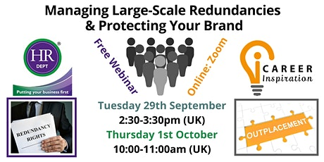 Managing Large-Scale Redundancies and Protecting your Brand tickets