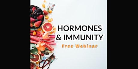 Live Webinar: Balancing Hormones & Boosting Immune Health tickets