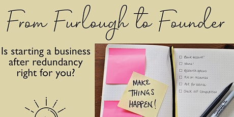 From Furlough to Founder tickets