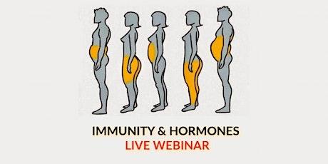 Live Webinar: A Holistic Approach to Hormones & Immunity tickets
