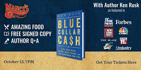 Ken Rusk at Mancy's for Delicious Food, Free Signed Books, and Q+A Session tickets