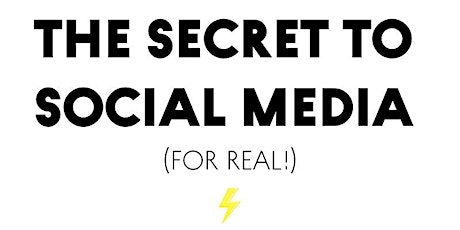 Unlock the secret to social media growth (for real)  + networking tickets