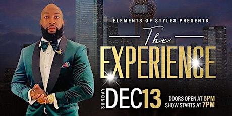 Elements of Styles Presents: The Experience tickets