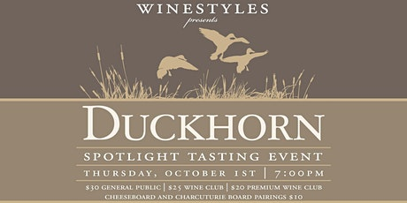 Duckhorn Spotlight Tasting tickets