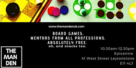 The Man Dens Board Game Session tickets