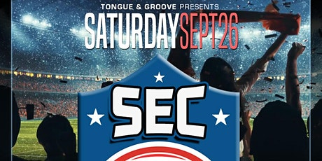 SEC Kickoff Party with DJ Incrediboi and Jay Envy tickets