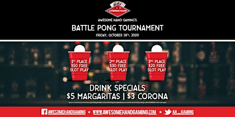 Traditional Battle Pong Tournament tickets