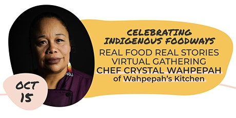 RFRS Virtual Gathering with Chef Crystal Wahpepah tickets
