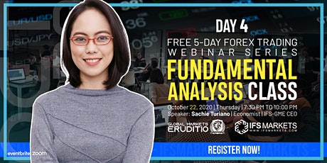 Free Five-Day Forex Trading Webinar Series - Day 4 Fundamental Analysis tickets