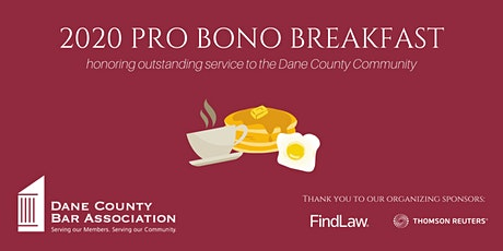 2020 Pro Bono Awards Breakfast  - Virtual! tickets