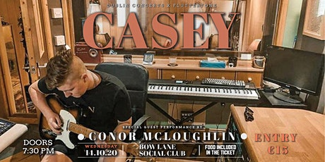 """Casey"" live at Bow Lane Social Club tickets"