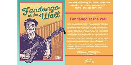FANDANGO AT THE WALL Screening and Panel with the creative team tickets