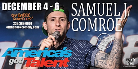 Comedian Samuel Comroe  live  in Naples, FL tickets