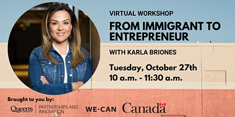 From Immigrant to Entrepreneur tickets