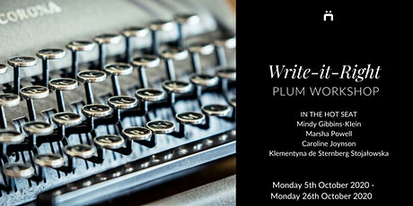 Plum Workshop : Write-It-Right (weekly for members only) tickets