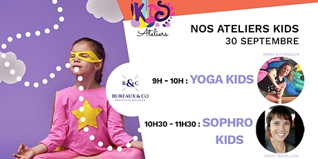Ateliers Kids Yoga - Sophro billets