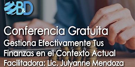 Conferencia Gratuita Gestiòn Efectiva de tus Finanzas en el Contexto Actual entradas