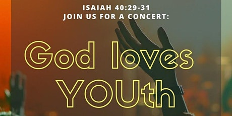 God Loves YOUth: Concert Night tickets