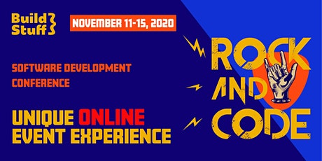 Build Stuff Software Development Conference 2020 tickets