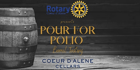 Pour for Polio Barrel Tasting tickets
