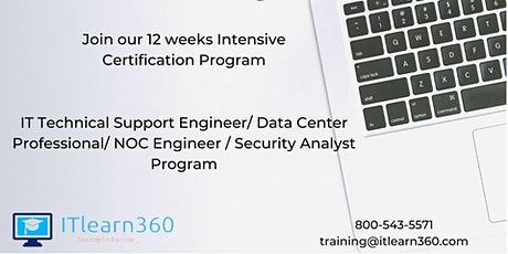 IT Technical Support Engineer/Data Center Professional/NOC Engineer Program tickets