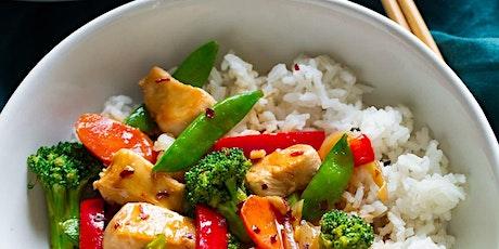 Kids in the Kitchen-Chicken and Vegetable Stir Fry