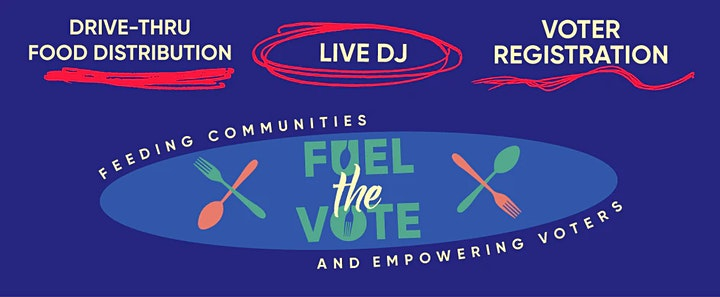 Fuel The Vote - A 412 Food Rescue Distribution and Voter Registration Event image