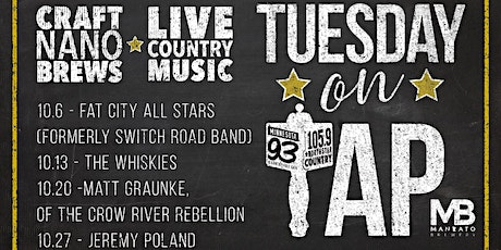 Tuesday On Tap: Jeremy Poland tickets