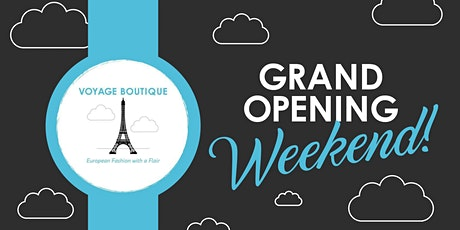 Grand Opening of Voyage Boutique International in Delray Beach tickets