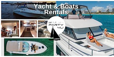 Miami Yacht Rentals tickets