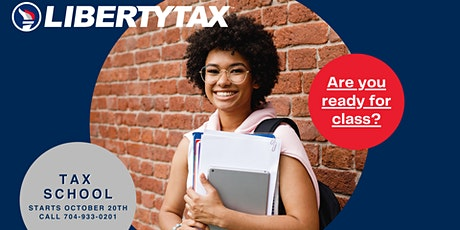 Liberty Tax (8 Week Tax School ) at Albemarle Rd.  Charlotte tickets