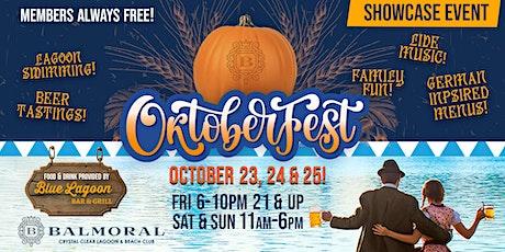 OKTOBERFEST at the Lagoon! tickets