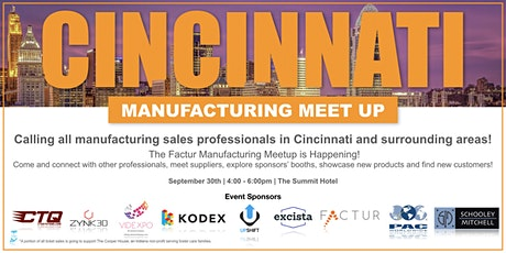 Factur Manufacturing Meetup tickets