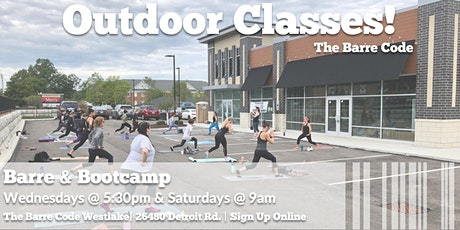 FREE Outdoor Barre & Bootcamp Classes tickets