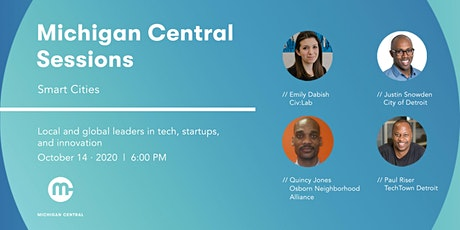 Michigan Central Sessions: Smart Cities tickets
