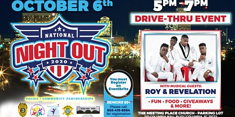 National Night Out at The Meeting Place Town Centre. Event is Drive Thru. tickets