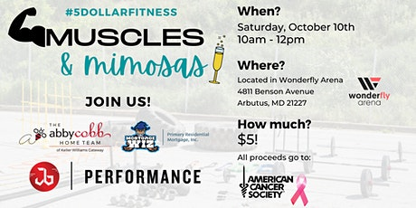 Muscles & Mimosas: 45 Minute Strength & Conditioning with Jb Performance tickets
