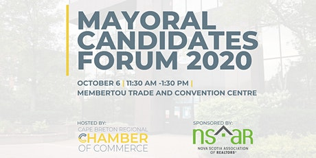 Mayoral Candidates Forum 2020 tickets