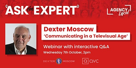 Ask The Expert - Communicating in a Televisual Age 7th October tickets
