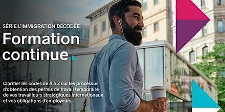 FORMATION CONTINUE  - RÈGLES DE CONFORMITÉ : CONNAISSEZ-VOUS VOS tickets
