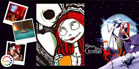 Museica's VIRTUAL  Sip & Paint - JACK & SALLY (ONLINE CLASS) tickets