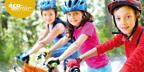 Parcours vélo à l'échelle des tout-petits billets
